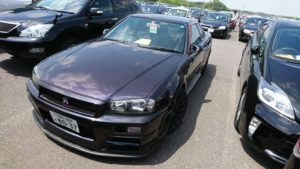 1999 Nissan Skyline R34 GTR VSpec MP2 left front