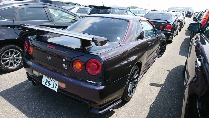 1999 Nissan Skyline R34 GTR VSpec MP2 right rear