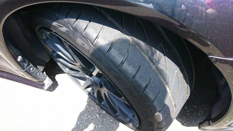 1999 Nissan Skyline R34 GTR VSpec MP2 tyre