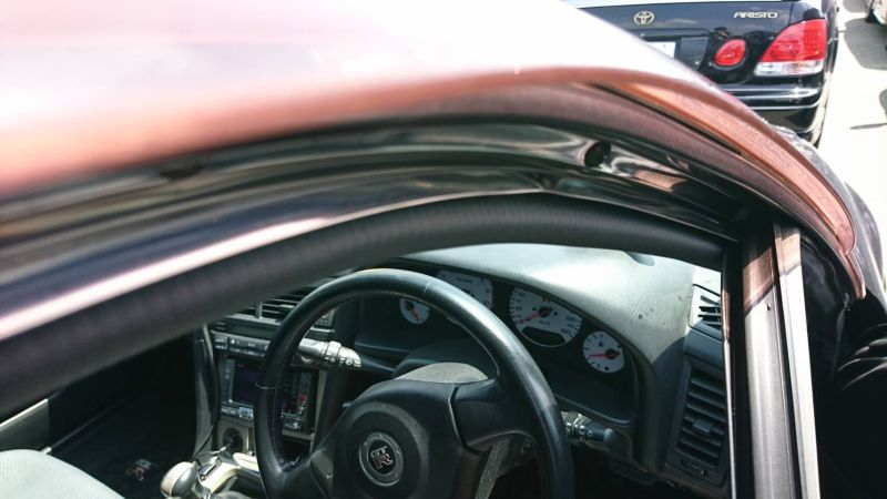 1999 Nissan Skyline R34 GTR VSpec MP2 window seal
