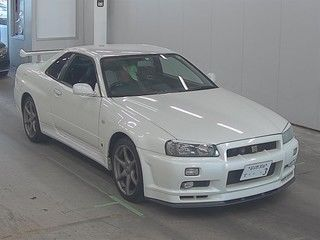 2002 Nissan Skyline R34 GTR MSpec auction front