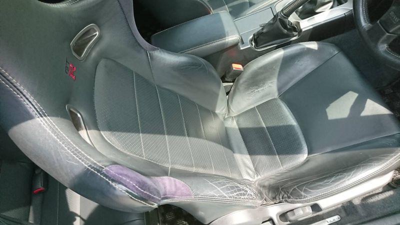 2002 Nissan Skyline R34 GTR MSpec driver seat