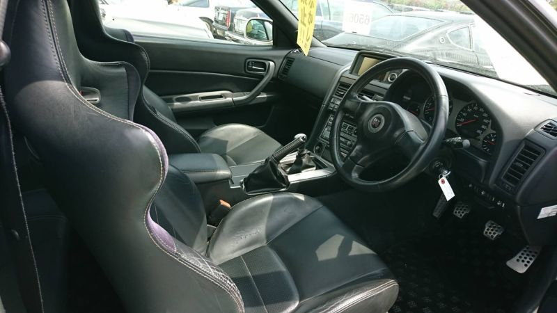 2002 Nissan Skyline R34 GTR MSpec interior
