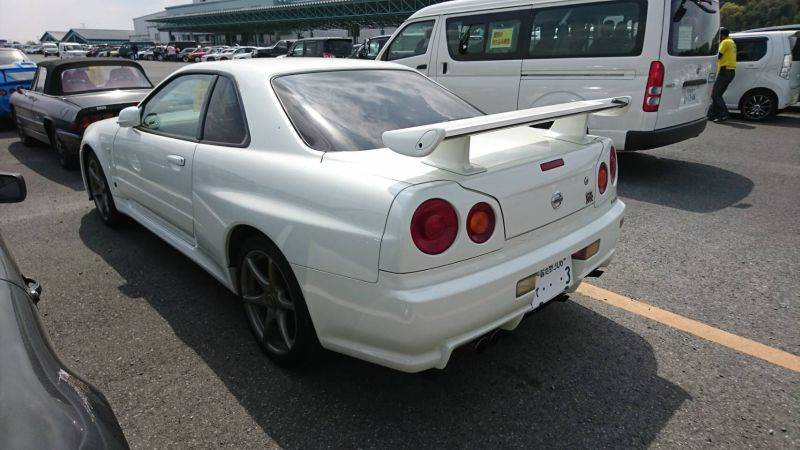 2002 Nissan Skyline R34 GTR MSpec left rear