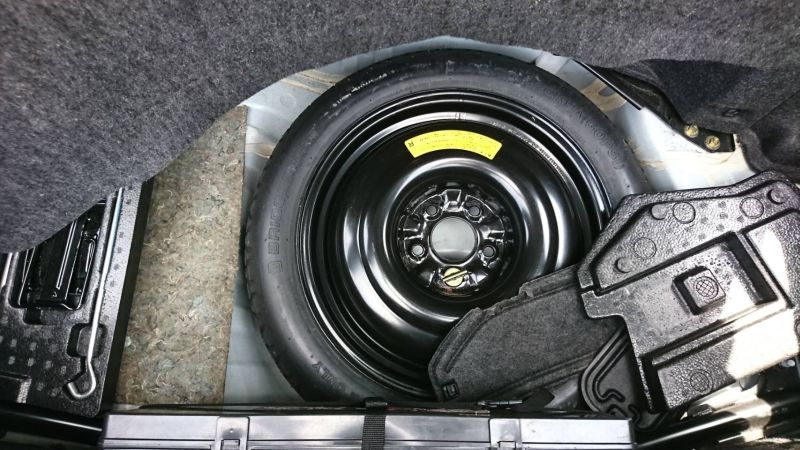 2002 Nissan Skyline R34 GTR MSpec spare tyre and tools