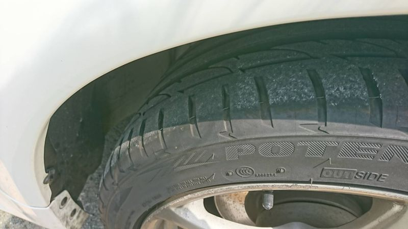 2002 Nissan Skyline R34 GTR MSpec wheel closeup
