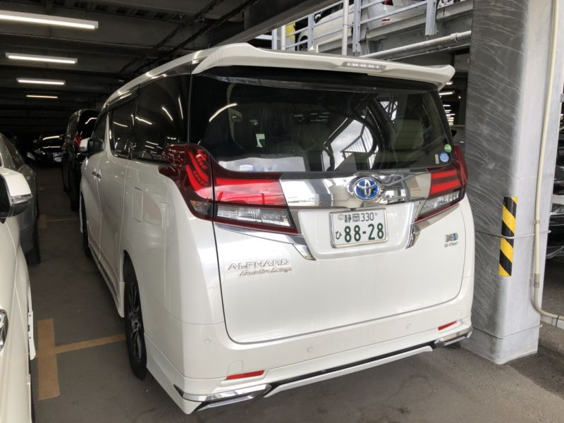 2017 Toyota Alphard Hybrid Executive Lounge left rear