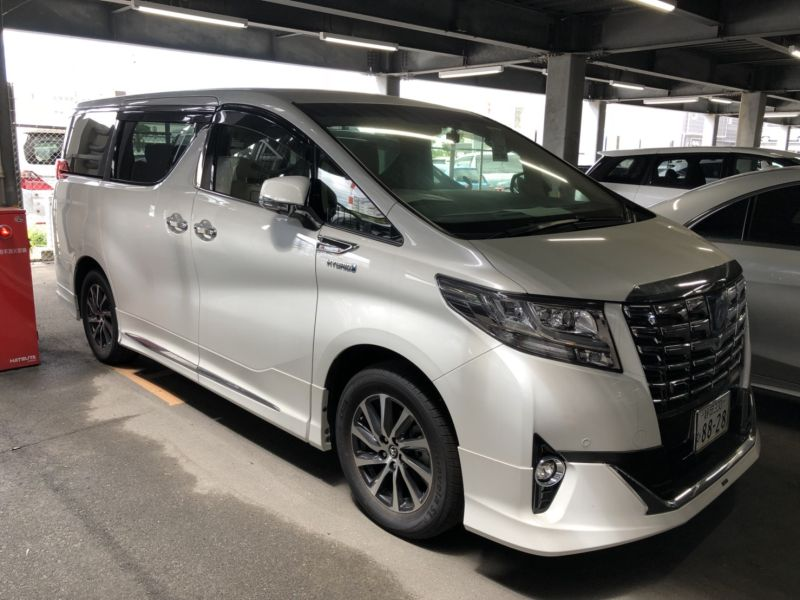 2017 Toyota Alphard Hybrid Executive Lounge right front