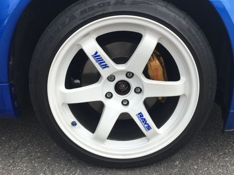 2000 Nissan Skyline R34 GTR VSpec Bayside Blue RAYS