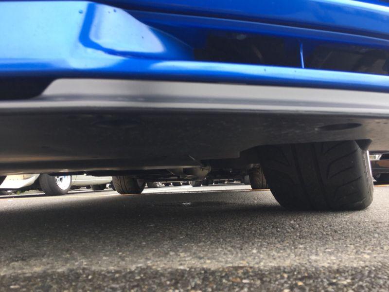 2000 Nissan Skyline R34 GTR VSpec Bayside Blue front lip spoiler