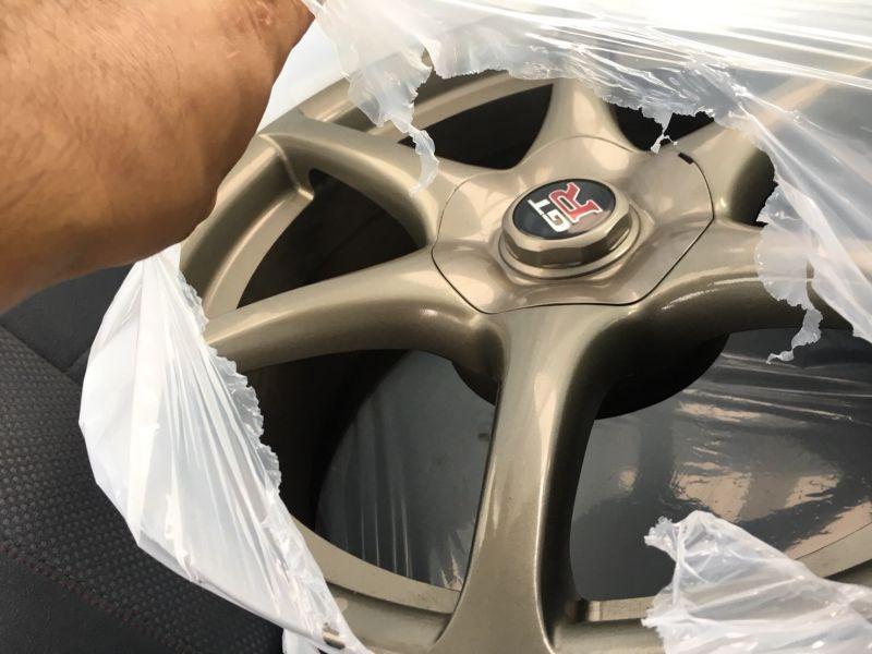 2000 Nissan Skyline R34 GTR VSpec Bayside Blue wheels 4