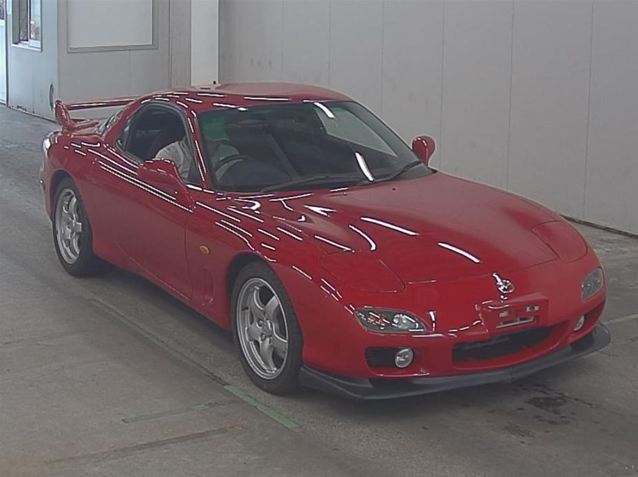 2001 Mazda RX-7 Type RS front