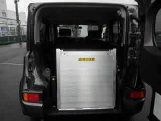 2015 Nissan Cube Z12 Welfare Sloper auction sloping ramp