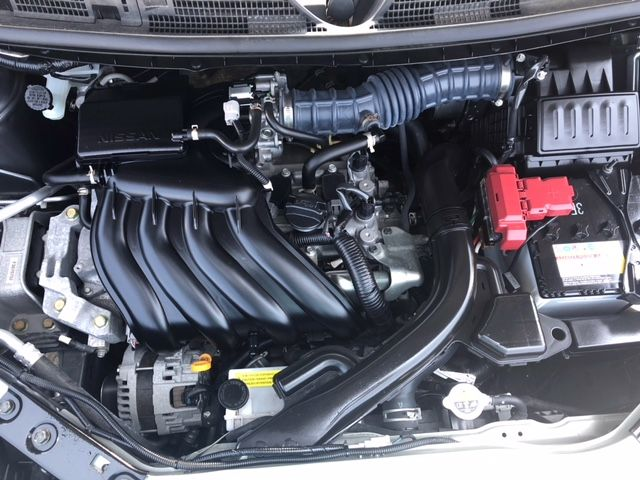 2015 Nissan Cube Z12 Welfare Sloper engine