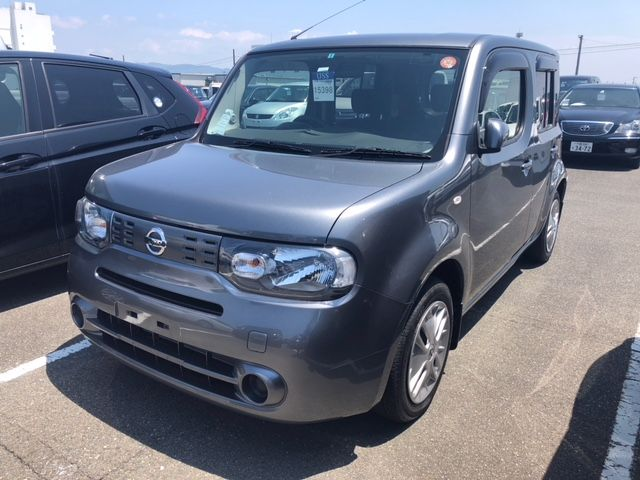 2015 Nissan Cube Z12 Welfare Sloper left front