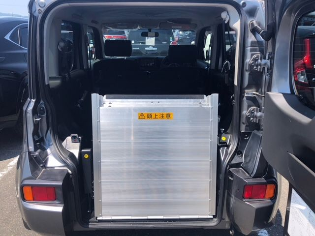 2015 Nissan Cube Z12 Welfare Sloper rear ramp