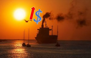 Shipping costs rise
