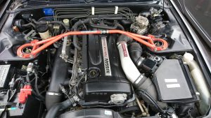 1992 Nissan Skyline R32 GTR engine