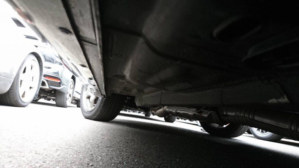 1992 Nissan Skyline R32 GTR underbody 9