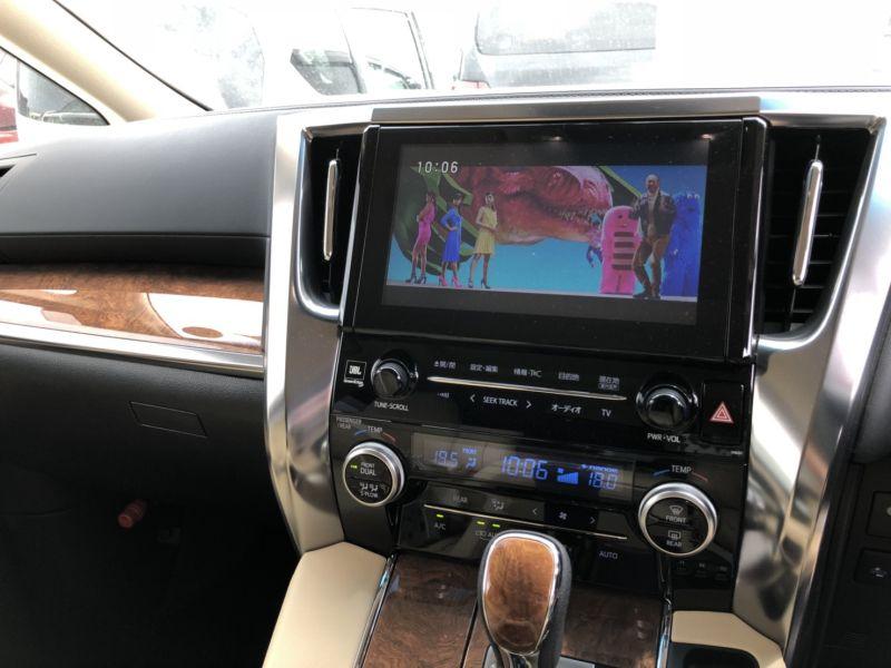 2015 Toyota Alphard Hybrid Executive Lounge TV
