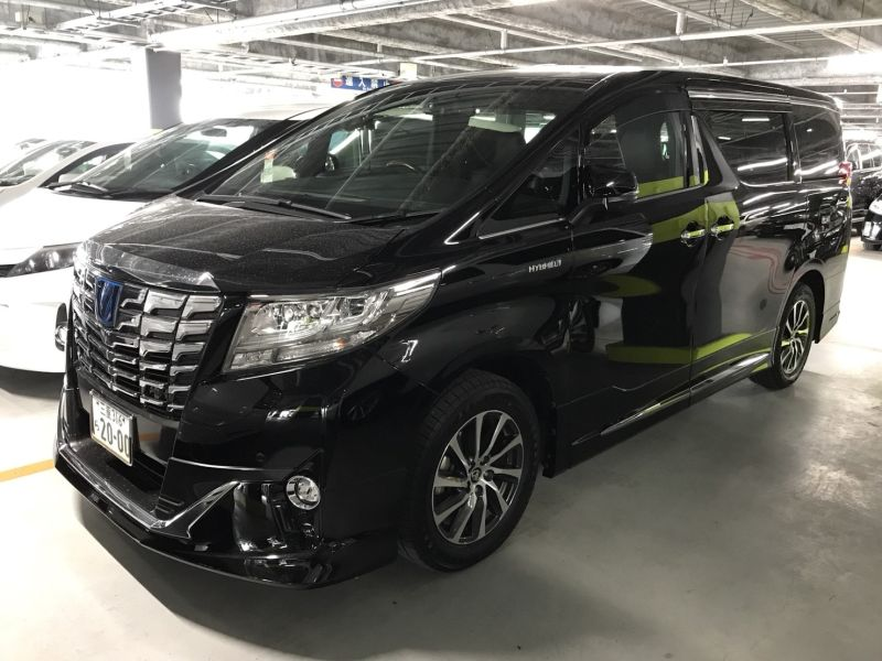2015 Toyota Alphard Hybrid Executive Lounge left front