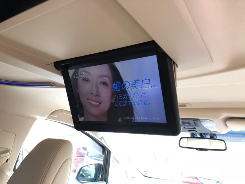 2015 Toyota Alphard Hybrid Executive Lounge rear TV screen