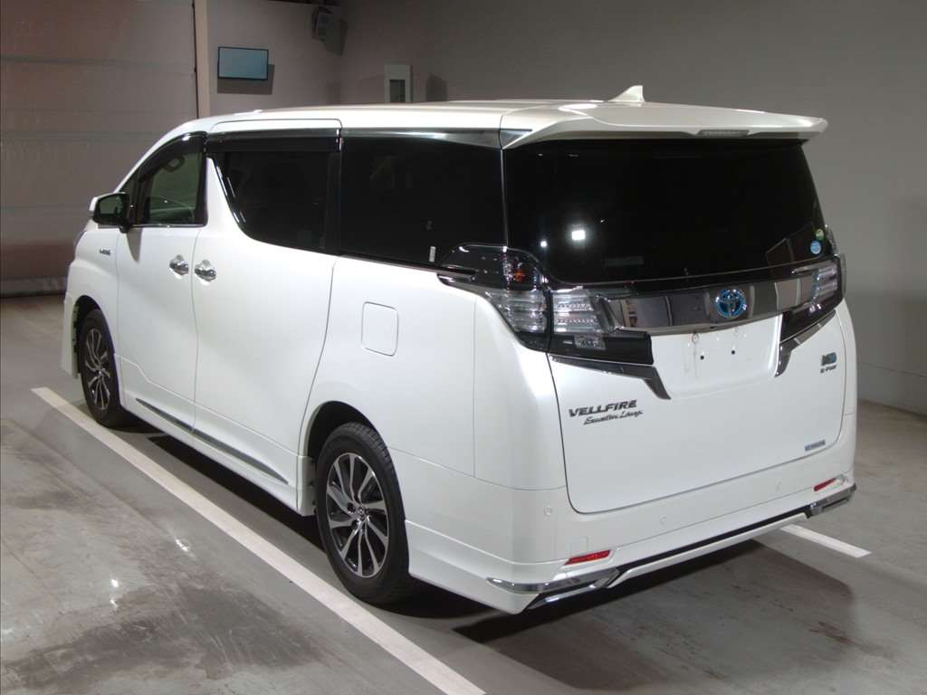 2015 Toyota Alphard Hybrid Executive Lounge rear