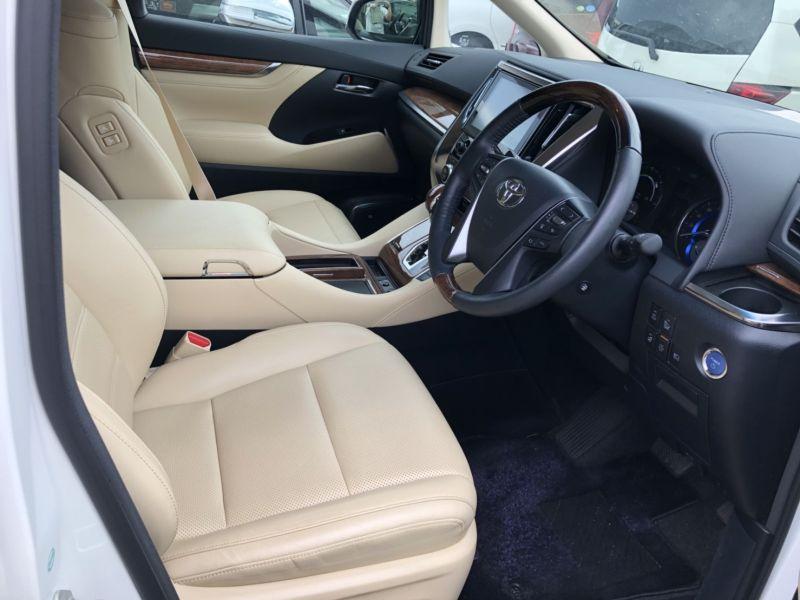 2015 Toyota Alphard Hybrid Executive Lounge seats