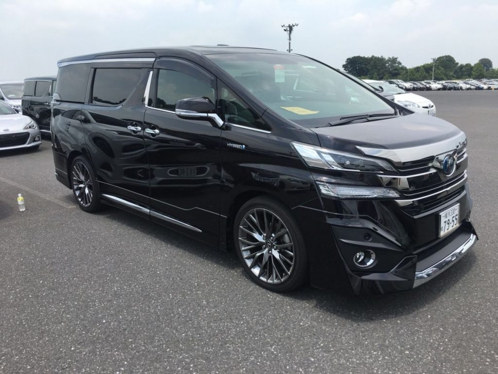 2015 Toyota Vellfire Hybrid Executive Lounge right front