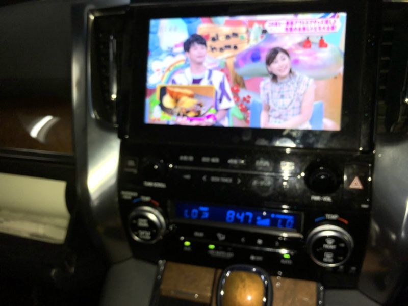 2016 Toyota Alphard Hybrid Executive Lounge TV