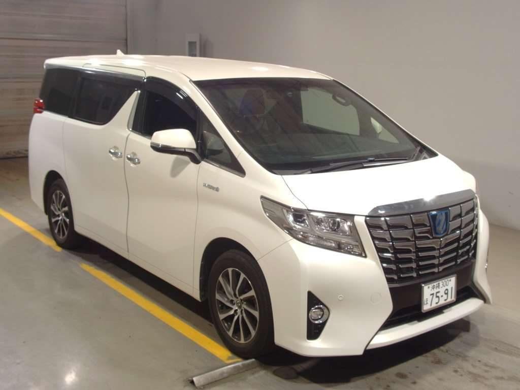 2016 Toyota Alphard Hybrid Executive Lounge auction 1