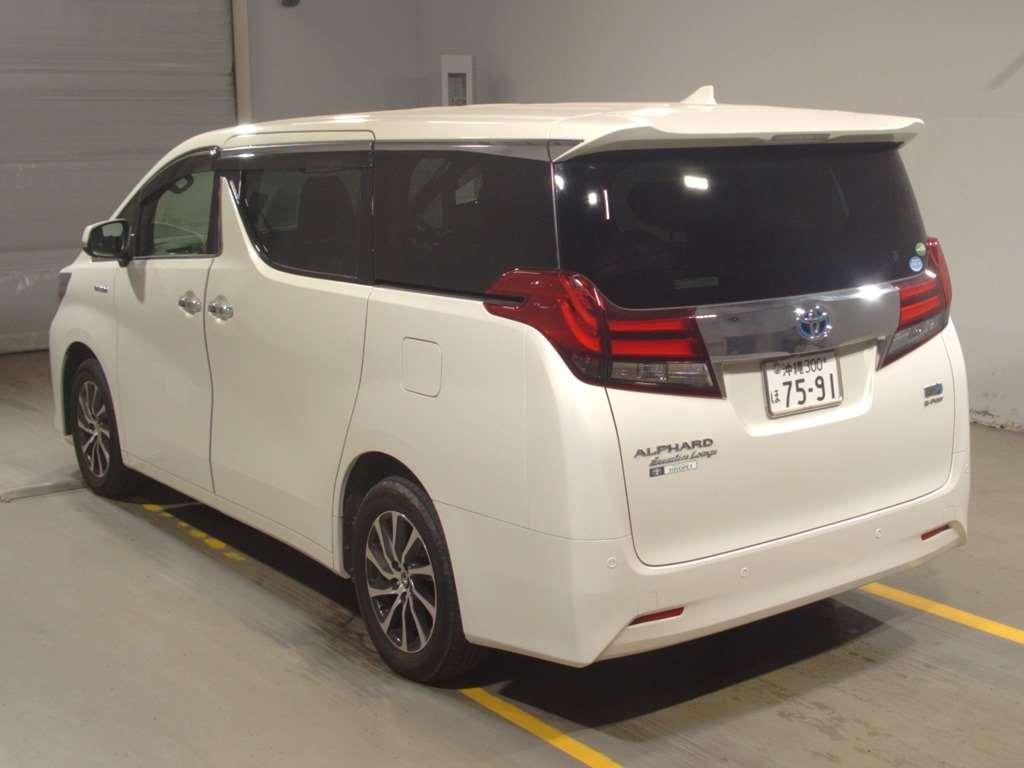 2016 Toyota Alphard Hybrid Executive Lounge auction 2