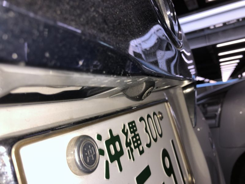 2016 Toyota Alphard Hybrid Executive Lounge camera