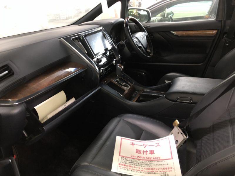 2016 Toyota Alphard Hybrid Executive Lounge interior 2
