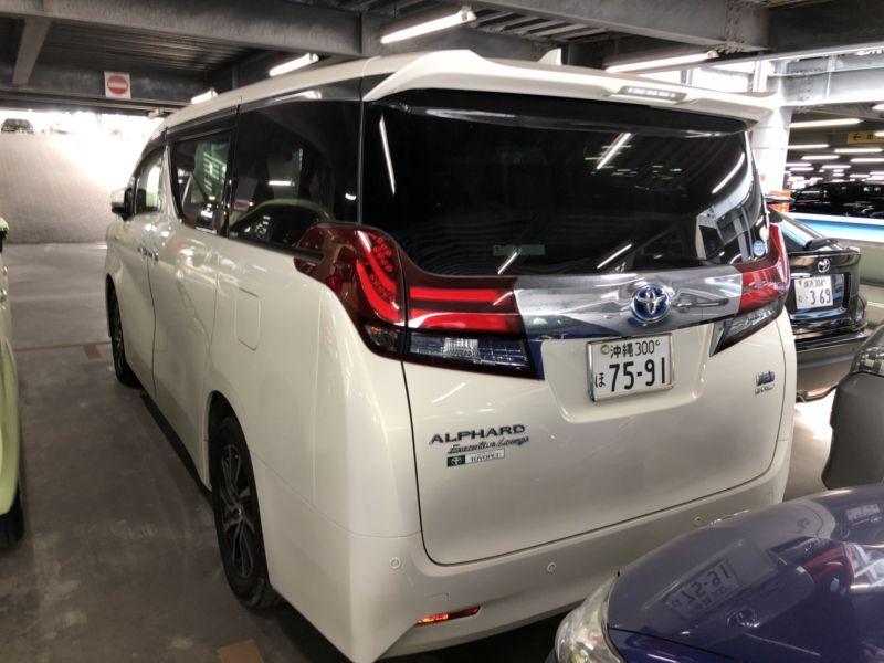 2016 Toyota Alphard Hybrid Executive Lounge left rear