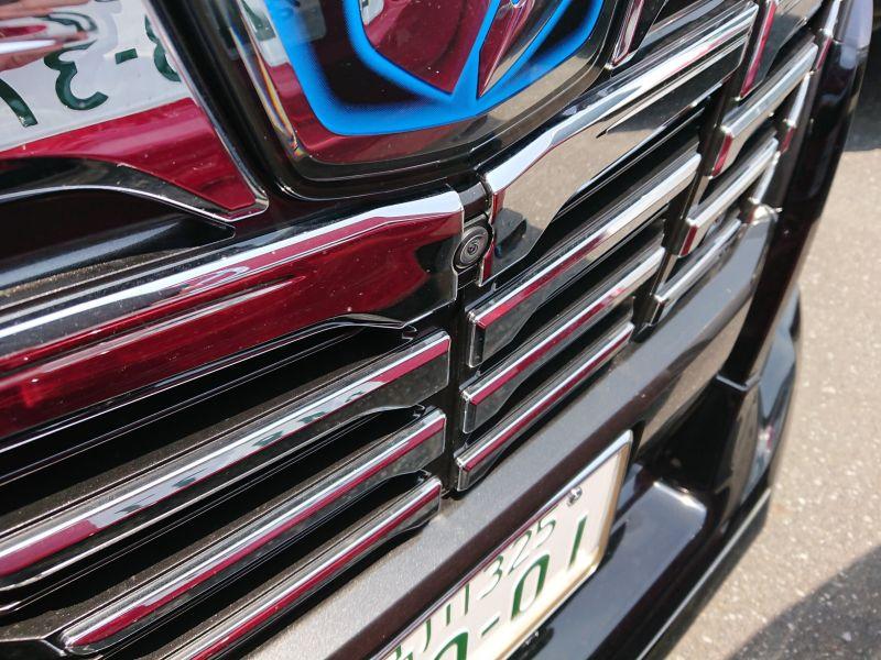 2017 Toyota Alphard Hybrid SR C Package front camera