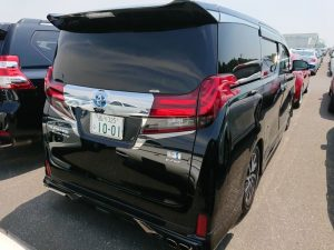 2017 Toyota Alphard Hybrid SR C Package right rear