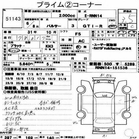 1994 Nissan Pulsar GTiR auction report