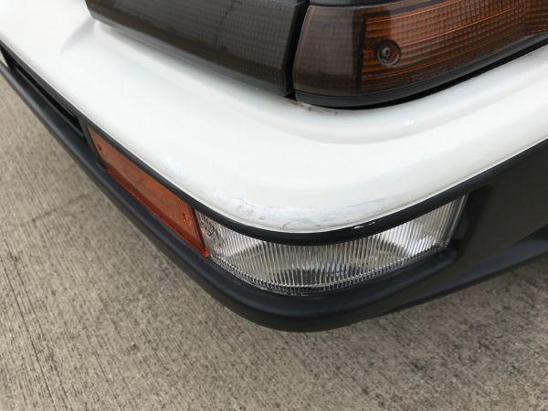 1986 TOYOTA SPRINTER GT APEX bumper 4