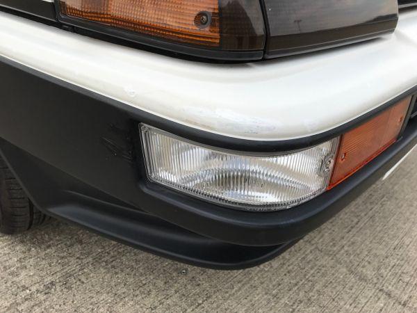 1986 TOYOTA SPRINTER GT APEX bumper 5