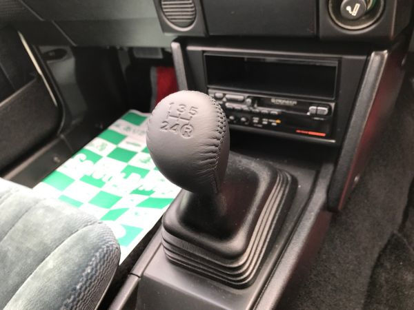 1986 TOYOTA SPRINTER GT APEX shift knob