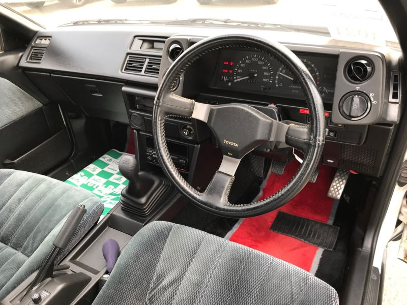 1986 TOYOTA SPRINTER GT APEX steering wheel 2