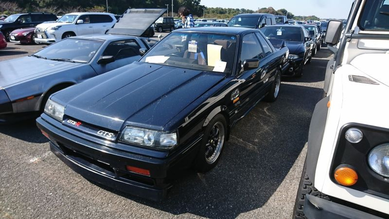 1987 NISSAN SKYLINE GTS-R left front