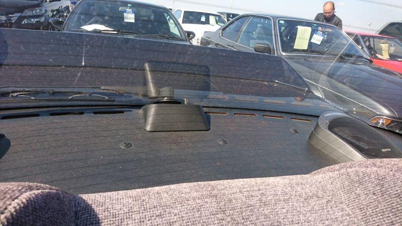 1987 NISSAN SKYLINE GTS-R rear spoiler