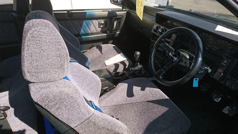 1987 NISSAN SKYLINE GTS-R seat