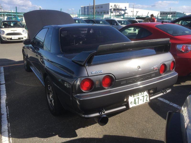 1990 Nissan Skyline R32 GTR left rear