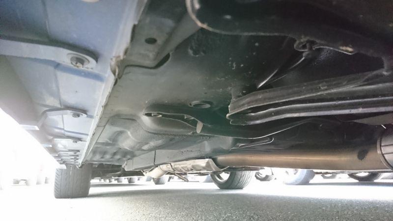 1999 Nissan Skyline R34 GTR VSpec blue underbody 4