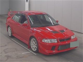 2000 Mitsubishi Lancer EVO 6 TME red auction front