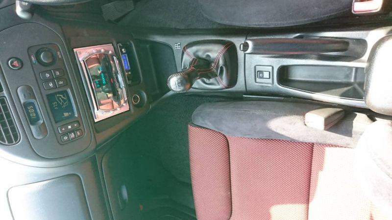 2000 Mitsubishi Lancer EVO 6 TME red console