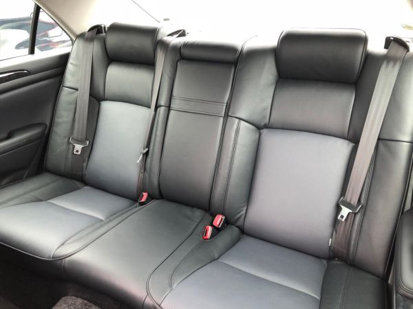 2007 Toyota Crown Athlete Premium Edition sedan rear seats